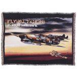 P-40 Warhawk Fighter Blanket/Throw