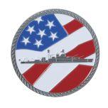 U.S.S. Arizona front