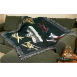 Classic Aviation Blanket/Throw