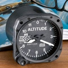 Altimeter Desk Clock