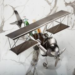 Biplane 3-Bottle Caddy