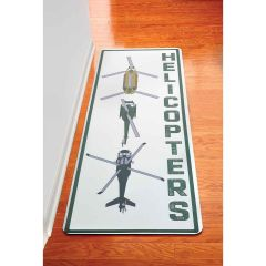 Helicopter Formation Hallway Runner Mat