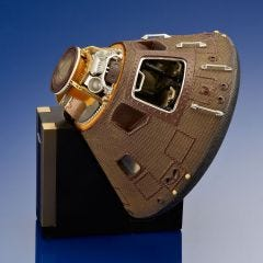 Apollo 11 Capsule Display Model