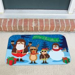 An Aviators Christmas Doormat