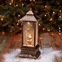 LED Fly Boy Santa Lantern
