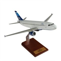 A320 Jet Blue Mahogany Model