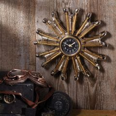 Radial Engine Clock
