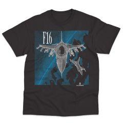 F-16 FALCON Blackbird T-Shirt