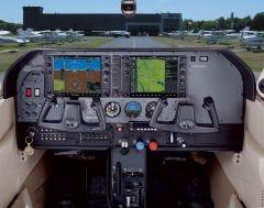 Cessna 182T G1000 Cockpit Poster