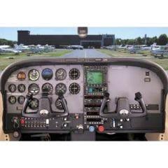 Cessna 182T Cockpit Poster