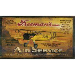 Freeman's Air Service Sign