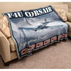 F4U Corsair Fighter Blanket/Throw