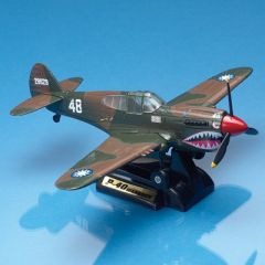 P-40 Warhawk Smithsonian Die-Cast Model