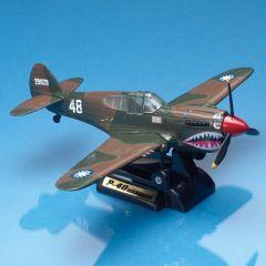 P-40 Warhawk Smithsonian Die-Cast Model