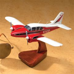 Custom 12 in. Mahogany Aircraft Model