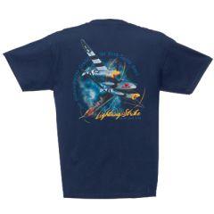 """P-38 Lightning """"Fork-Tailed Devil"""" T-Shirt"""