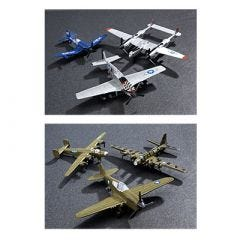 WWII Die-Cast Model Variety Pack (set of 6)