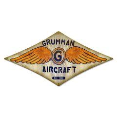 "Grumman Aircraft Wings  Measures 22"" x 14"""