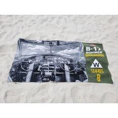 B-17 Flying Fortress Beach Towel