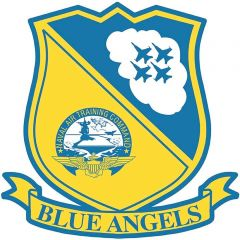 Blue Angels Insignia Metal Signs