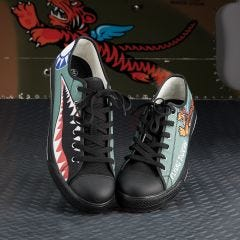 Flying Tigers Canvas Shoes
