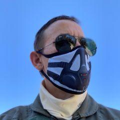 Jet Pilot Face Mask
