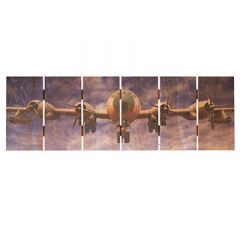 B-50 Super Fortress Cedar Aviation Wall Art (large size)