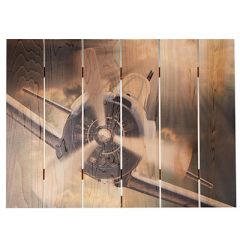 Dive Bomber Cedar Aviation Wall Art (large size)