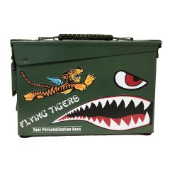 Personalized Flying Tigers Authentic 30 CAL Ammo Can