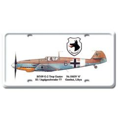 G-2 Trop Gustav License Plate Cover