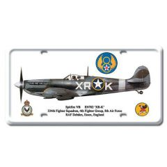 Spitfire VB License Plate Cover