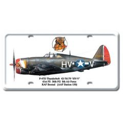 P-47D Thunderbolt License Plate Cover