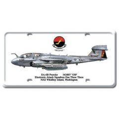 EA-6B Prowler License Plate Cover