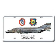 F-4D Phantom II License Plate Cover