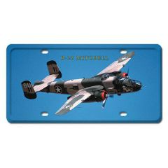 B-25 Mitchell License Plate Cover