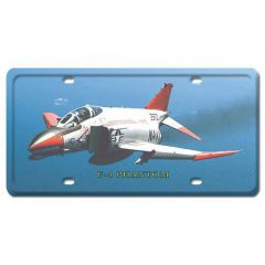F-4 Phantom License Plate Cover