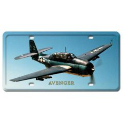 Avenger License Plate Cover