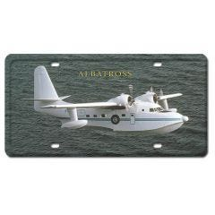 Albatross License Plate Cover