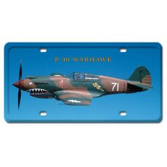 P-40 Warhawk License Plate Cover