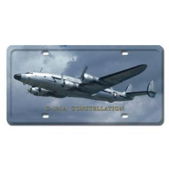 C-121A Constellation License Plate Cover