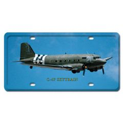 C-47 Skytrain License Plate Cover