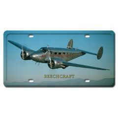 Beechcraft License Plate Cover