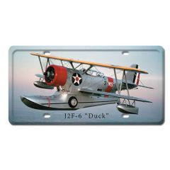 J2F-6 Duck License Plate Cover