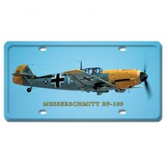 Messerschmitt BF-109 License Plate Cover