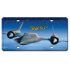Blackbird SR-71 License Cover