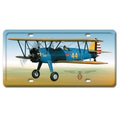 Stearman License Plate Cover