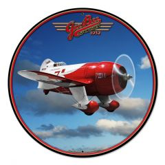 Gee Bee Racer Large Aviation Metal Sign