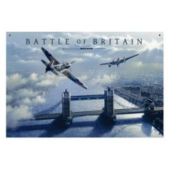 Battle of Britain Large Aviation Metal Sign