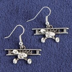 Biplane Earrings