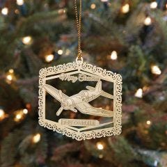 F4U Corsair Christmas Ornament